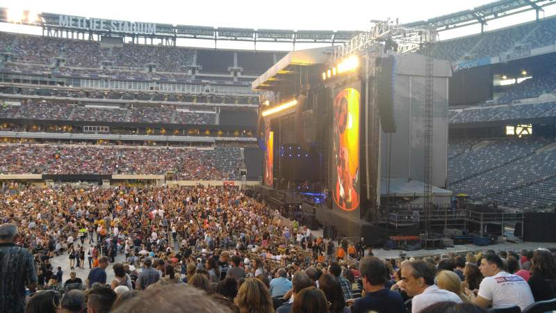 MetLife Stadium, section 111c, row 22, seat 13 - paul ...