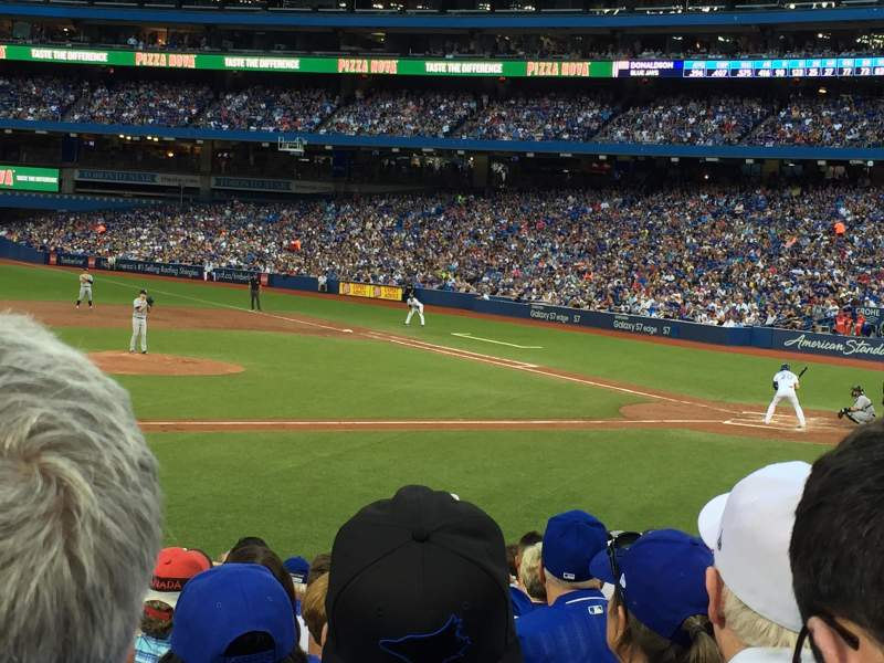 Seating view for Rogers Centre Section 127R Row 20 Seat 5