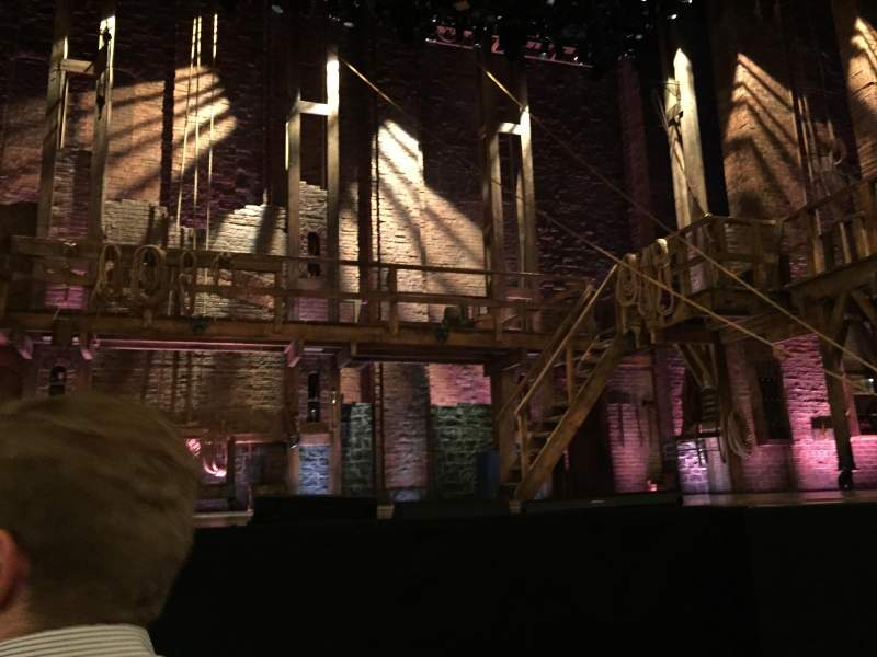 Seating view for Richard Rodgers Theatre Section Orchestra Row A Seat 111