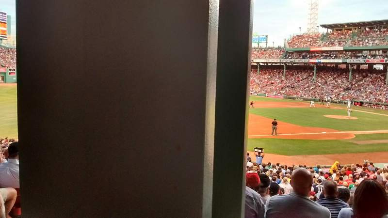 Seating view for Fenway Park Section grandstand 29 Row 3 Seat 24