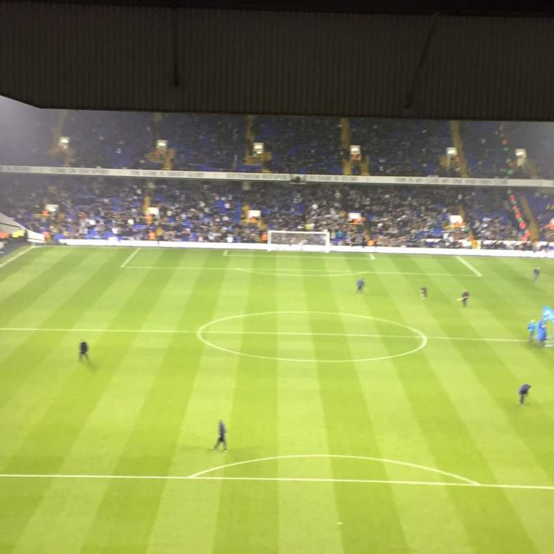 Seating view for White Hart Lane Section 53 Row 23