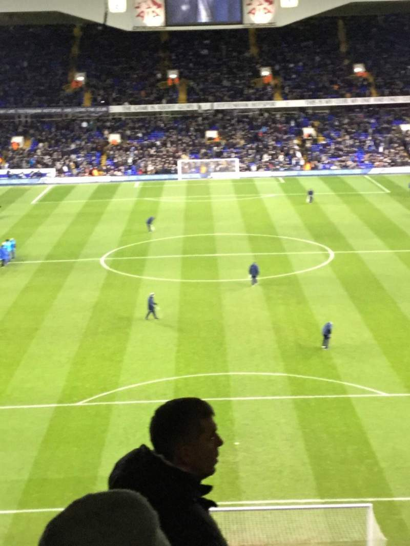 Seating view for White Hart Lane Section 43 Row 13