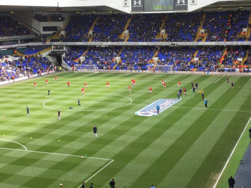 Seating view for White Hart Lane Section 49