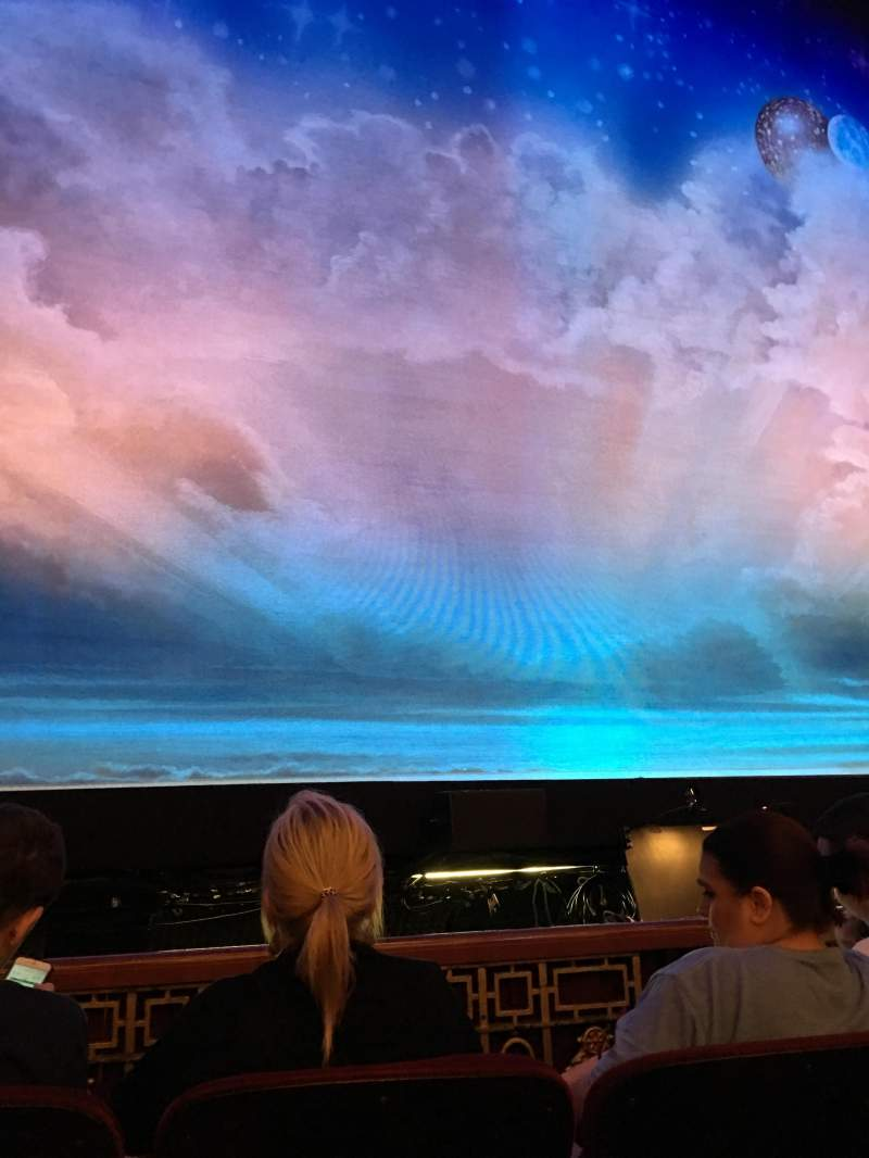 Seating view for CIBC Theatre Section Orchestra C Row C Seat 101