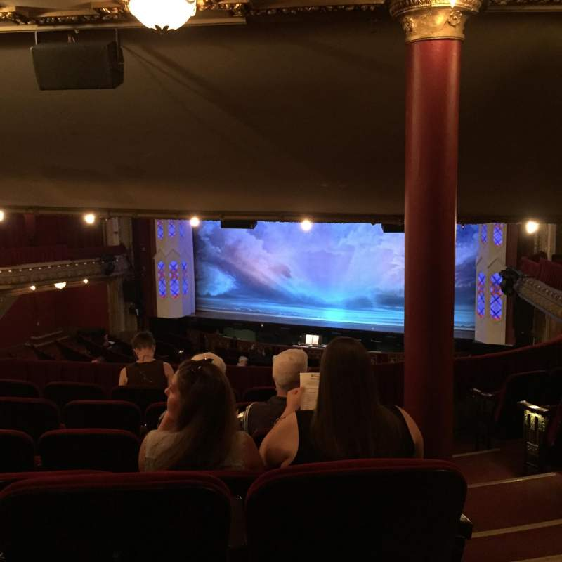 Seating view for CIBC Theatre Section Dress Circle RC Row G Seat 240