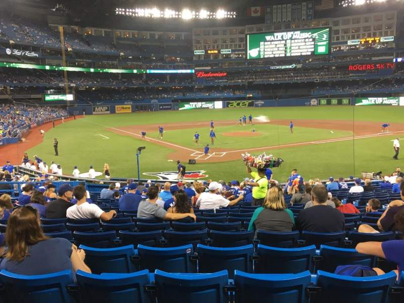 Seating view for Rogers Centre Section 120l Row 25 Seat 110