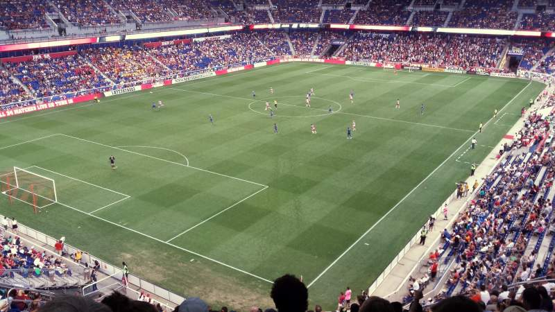 Seating view for Red Bull Arena Section 215 Row 18 Seat 27