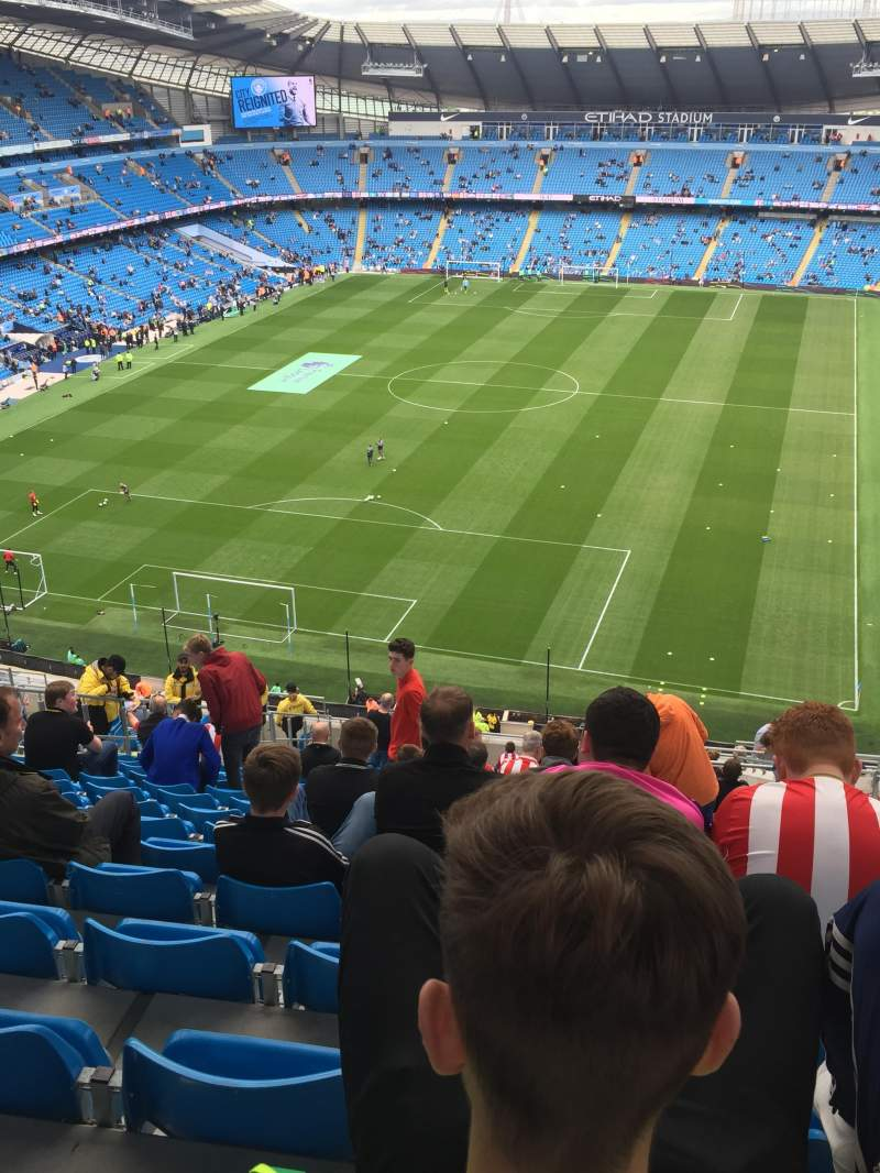 Seating view for City of Manchester Stadium Section 314 Row AA Seat 356