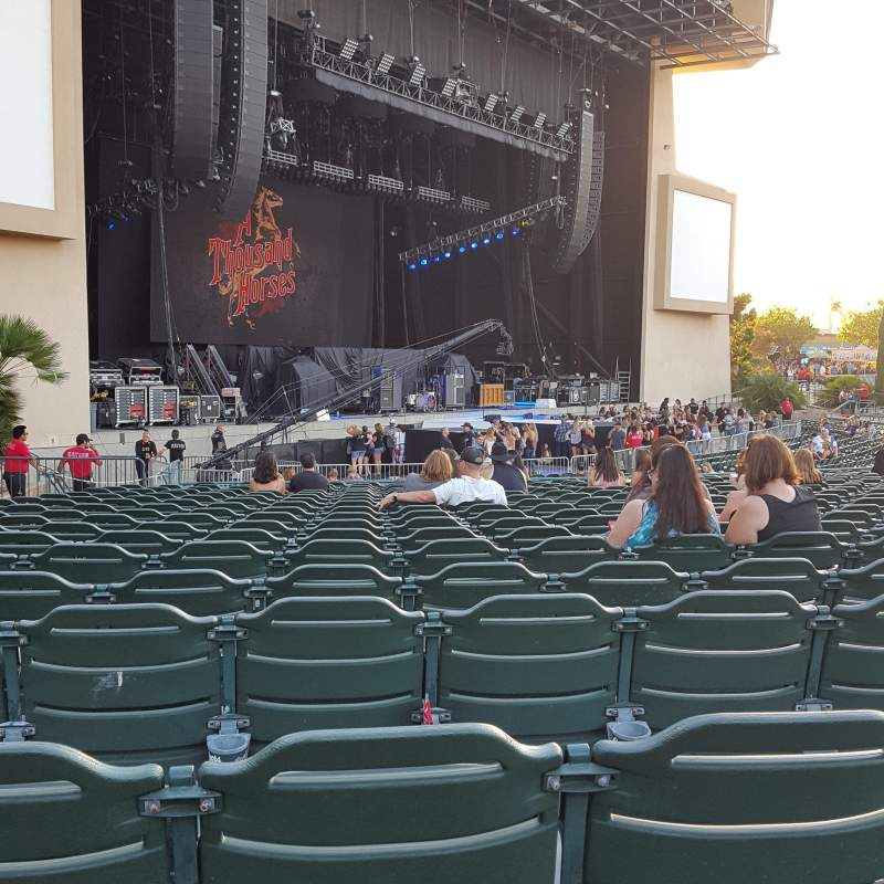 Seating view for Sleep Train Amphitheater (Chula Vista) Section 104 Row V Seat 52