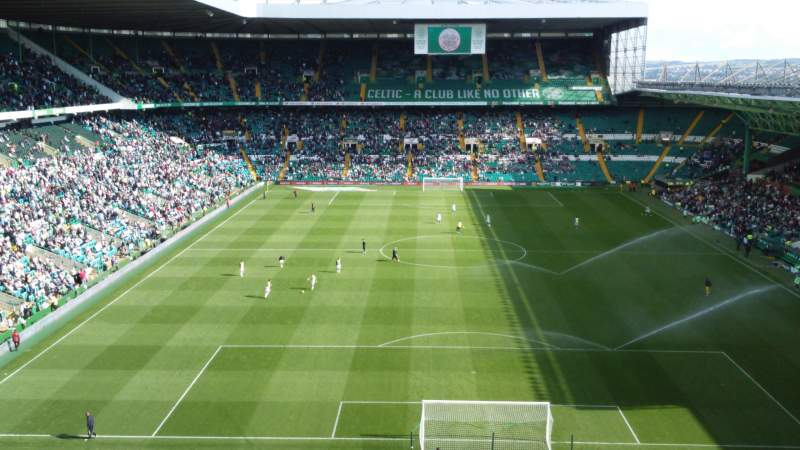 Seating view for Celtic Park