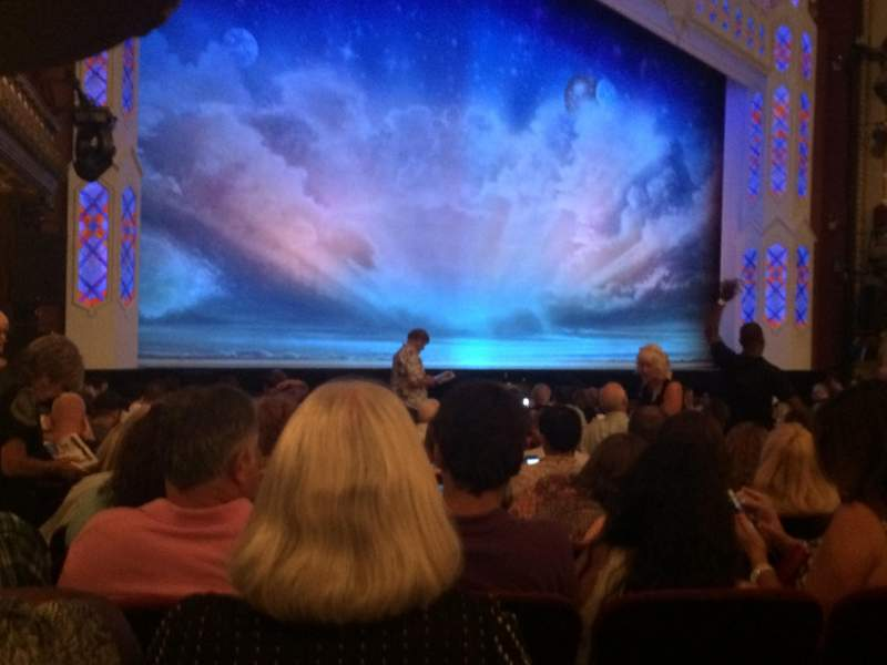 Seating view for PrivateBank Theatre Section Orch-l Row R Seat 17