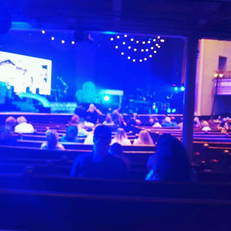 Seating view for Ryman Auditorium Section 7 Row s Seat 4