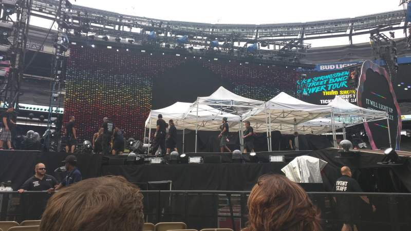 Seating view for MetLife Stadium Section 3 Row 8 Seat 17