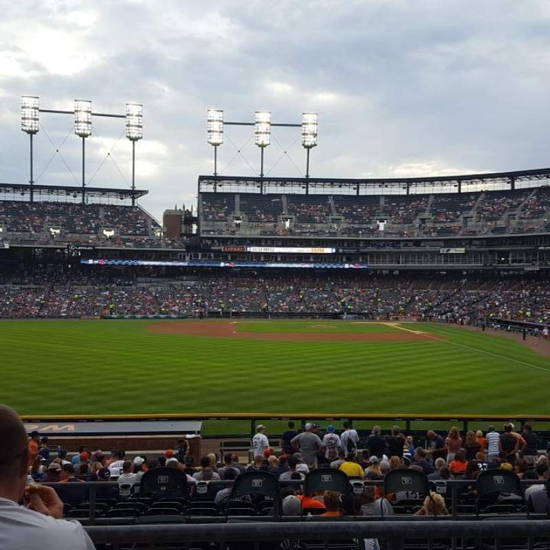 Seating view for Comerica Park Section 148 Row CC Seat 15