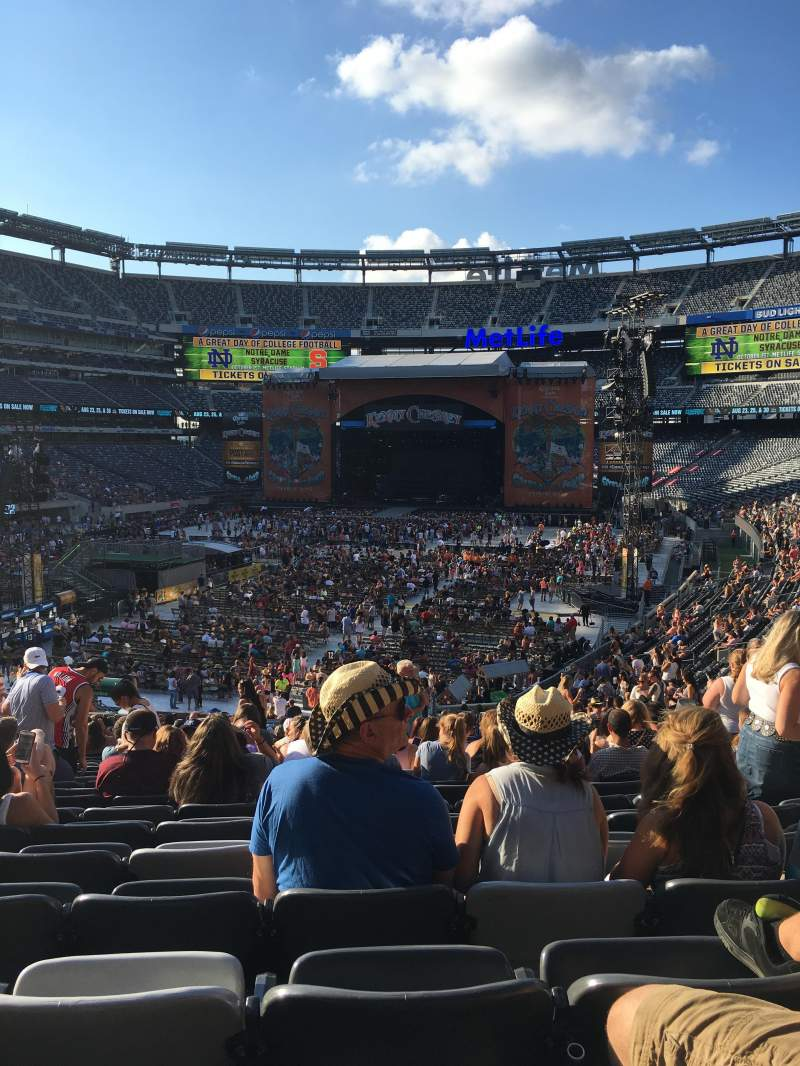 Seating view for MetLife Stadium Section 123 Row 36 Seat 6