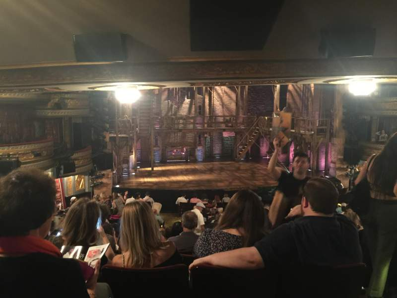 Seating view for Richard Rodgers Theatre Section Orchestra Row U Seat 5
