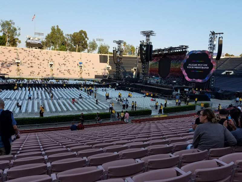 Seating view for Rose Bowl Section 18 Row 25 Seat 115