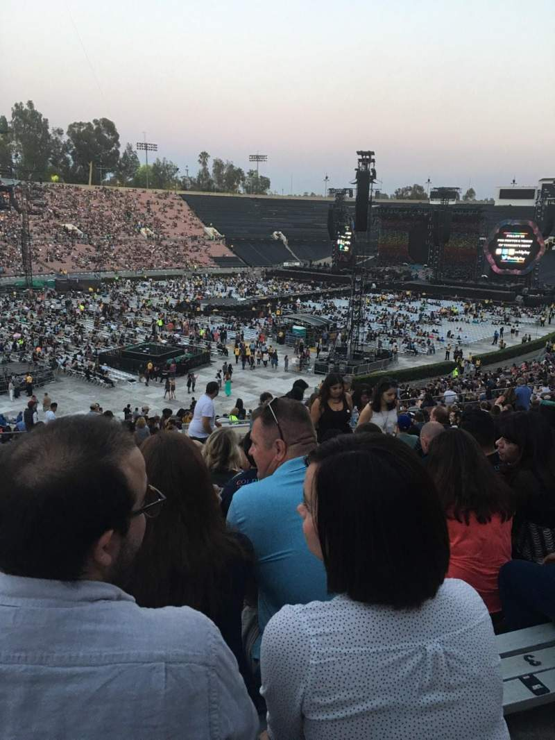 Seating view for Rose Bowl Section 15-L Row 55 Seat 6