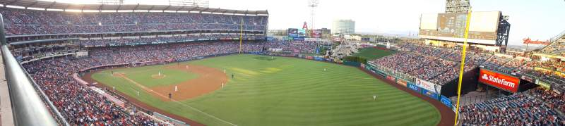 Seating view for Angel Stadium Section V429 Row A Seat 4