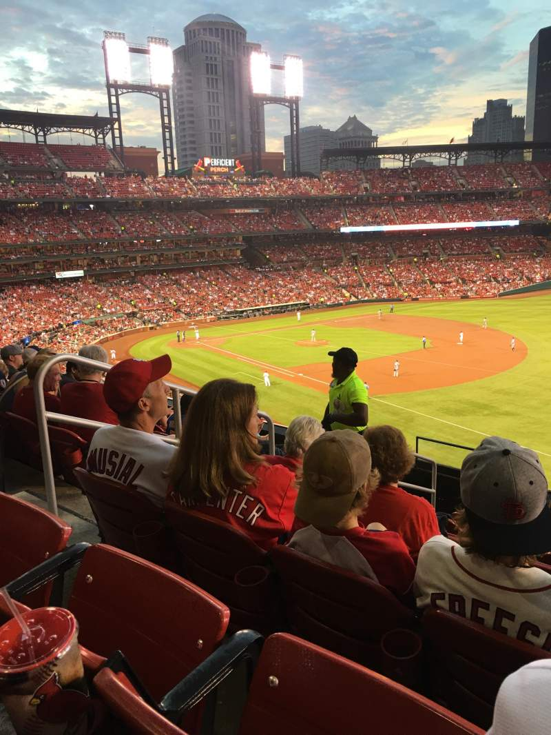 Seating view for Busch Stadium Section 235 Row 8 Seat 5