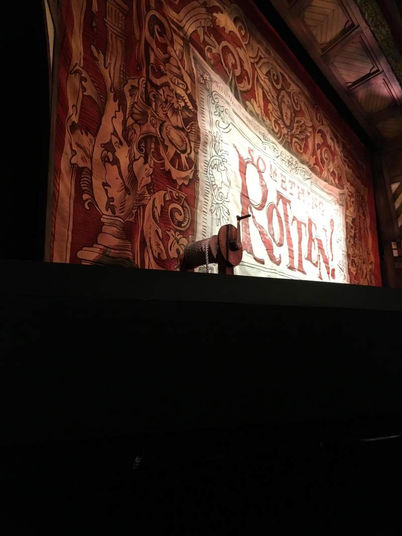 Seating view for St. James Theatre Section Orchestra Row B Seat 11