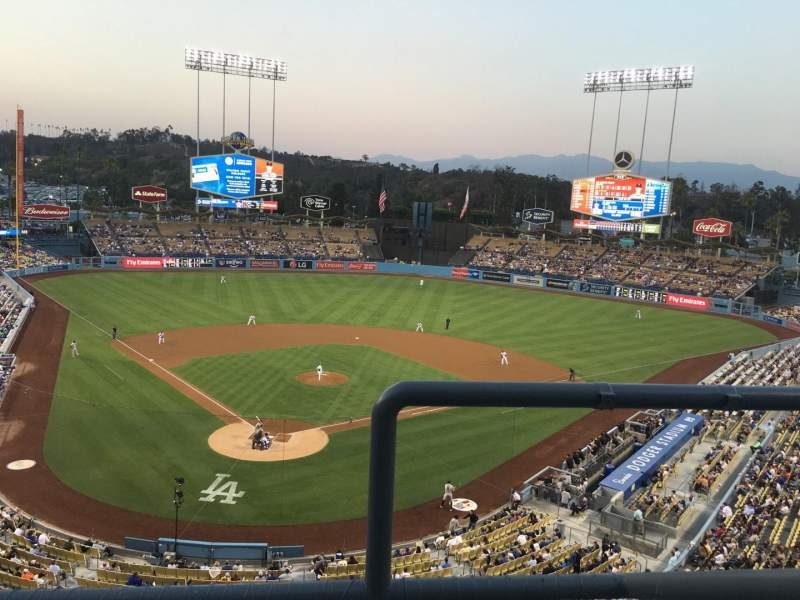 Seating view for Dodger Stadium Section 2RS Row B Seat 19
