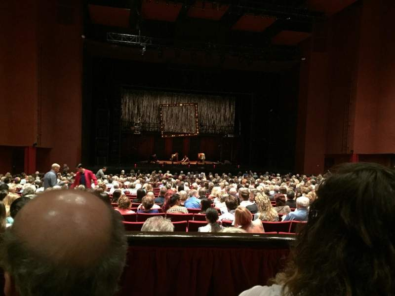 Seating view for San Diego Civic Theatre Section Dresl1 Row B Seat 25