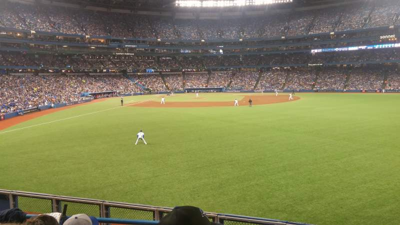 Seating view for rogers centre Section 106R Row 4 Seat 8