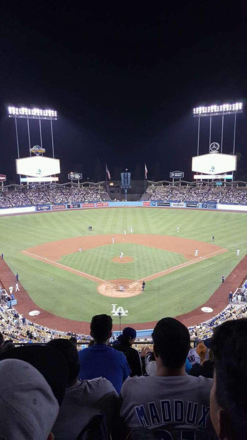 Seating view for Dodger Stadium Section 1RS Row K Seat 8