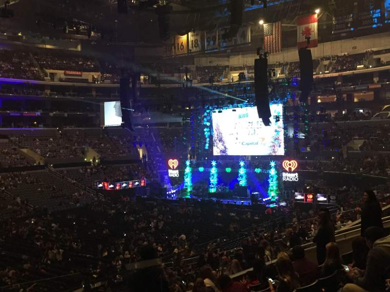 Seating view for Staples Center Section PR8 Row 8 Seat 1