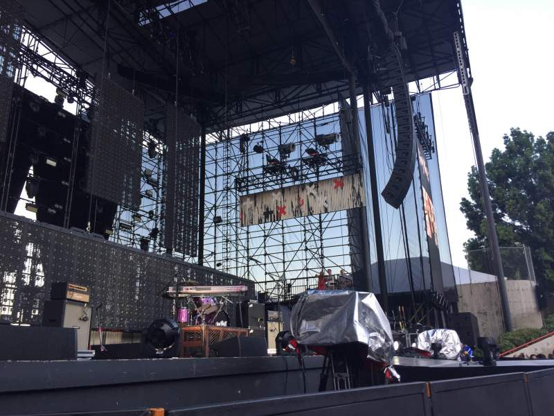 Seating view for Irvine Meadows Amphitheatre Section Orchestra Pit Row 2 Seat 72