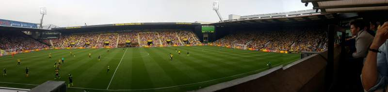 Seating view for Vicarage Road