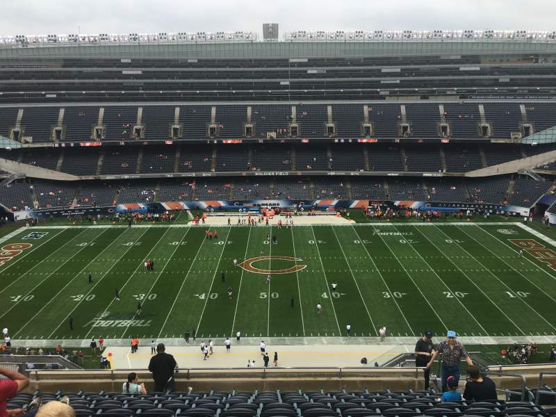 Seating view for Soldier Field Section 437 Row 12 Seat 13