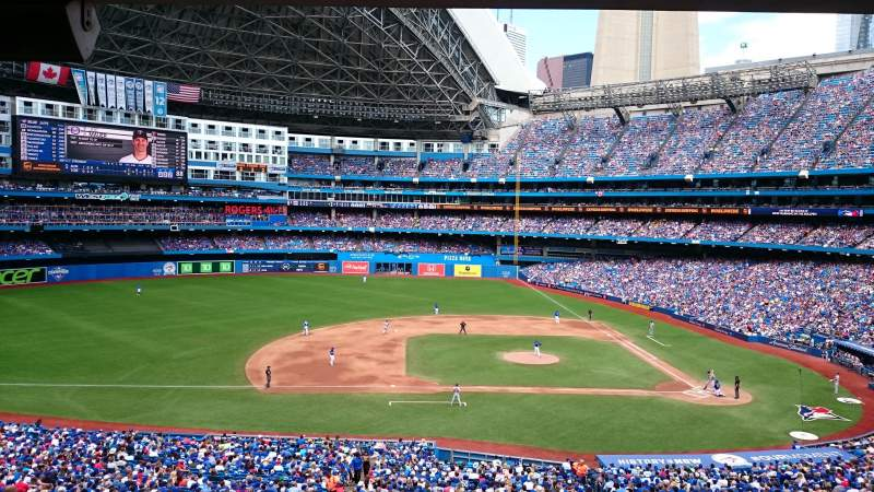 Seating view for Rogers Centre Section 230r Row 12 Seat 5