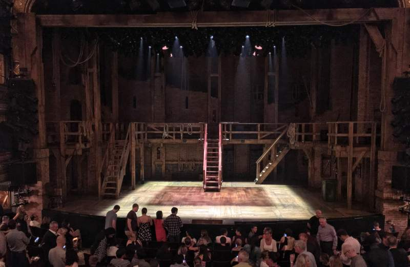 Seating view for Richard Rodgers Theatre Section Orchestra Row O Seat 106