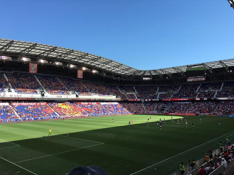Seating view for Red Bull Arena Section 114 Row 15 Seat 16