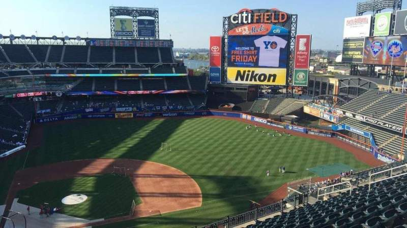 Seating view for Citi Field Section 508 Row 13 Seat 4