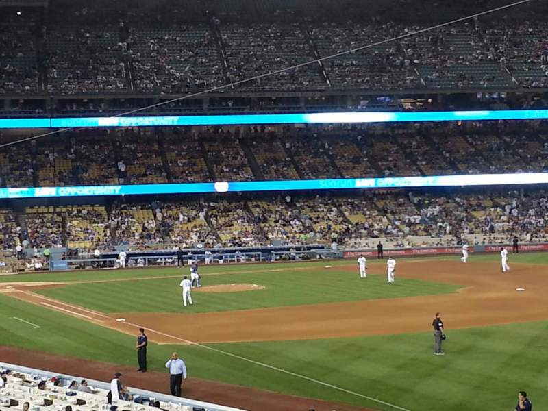 Seating view for Dodger Stadium Section 160LG Row B Seat 10