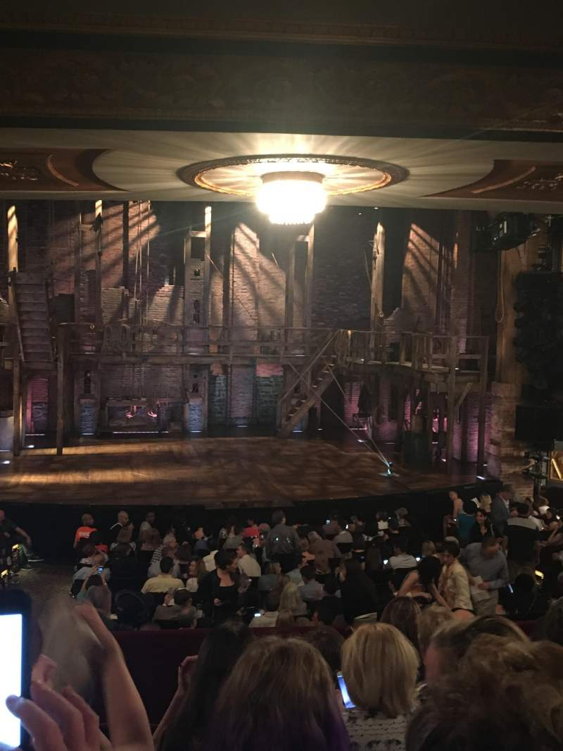 Seating view for Richard Rodgers Theatre Section Orchestra Row S Seat 113