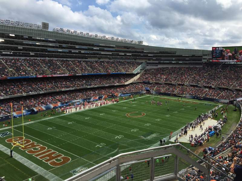 Seating view for Soldier Field Section 445 Row 3 Seat 18