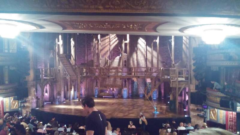 Seating view for Richard Rodgers Theatre Section orchestra Row S Seat 4