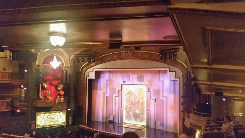 Seating view for Lyric Theatre Section DIRCIR Row F Seat 30