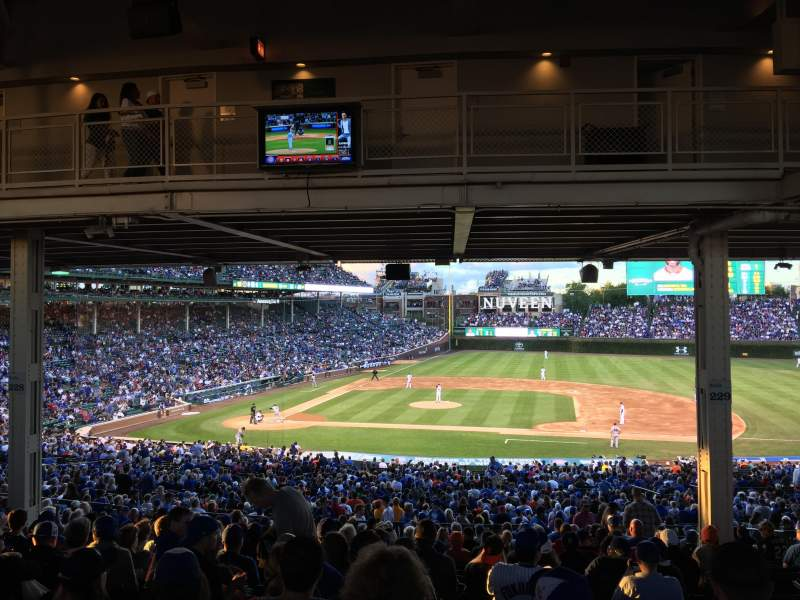 Seating view for Wrigley Field Section 229 Row 19 Seat 107