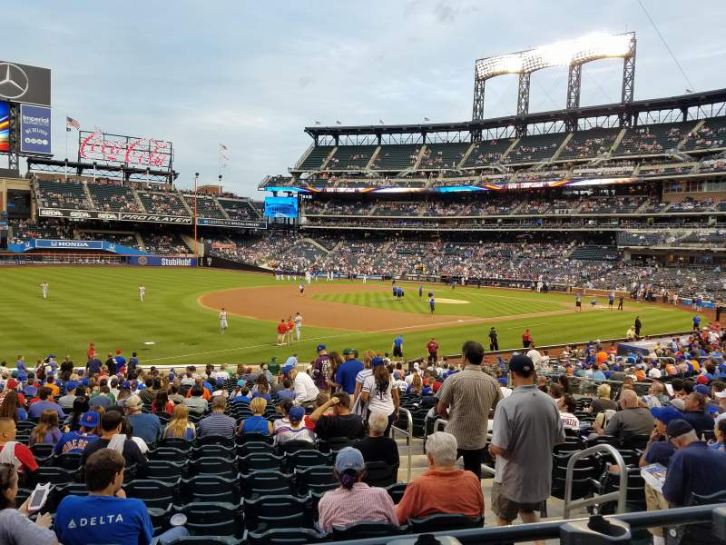 Seating view for Citi Field Section 126 Row 24 Seat 4