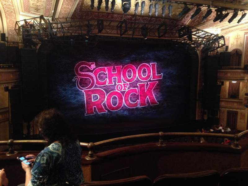 Seating view for Winter Garden Theatre Section Mezzanine Row C Seat 113 and 11