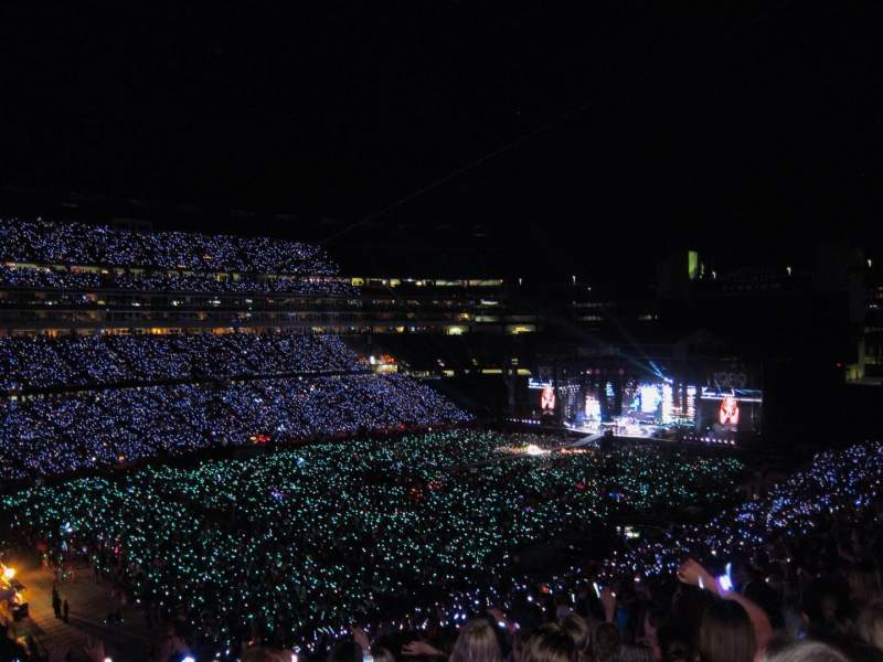 Gillette Stadium Section 238 Taylor Swift Tour The 1989 World Tour Shared Anonymously