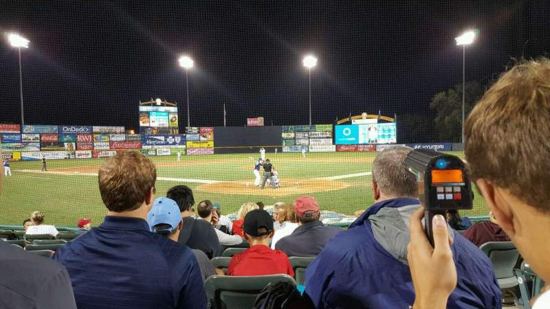 Seating view for Arm & Hammer Park Section 112 Row h Seat 2