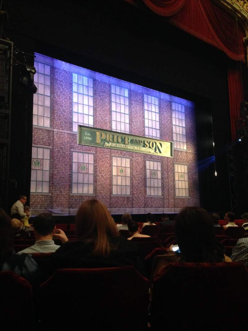 Seating view for Oriental Theatre Section ORCH-L Row K Seat 17