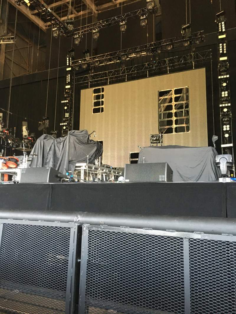 Seating view for Hollywood Casino Amphitheatre (Tinley Park) Section 103 Row A Seat 4