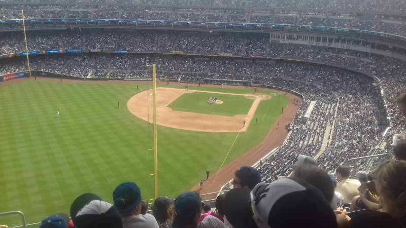 Seating view for Yankee Stadium Section 432B Row 9 Seat 16